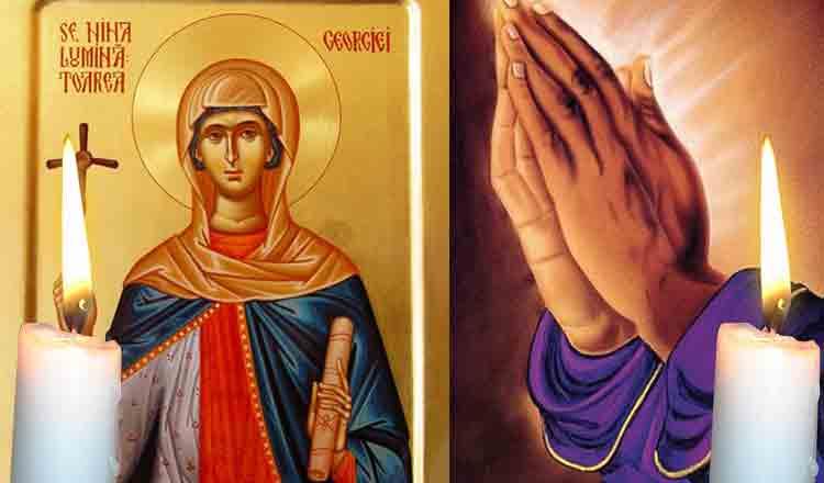 Rugăciune către Sfânta Nina