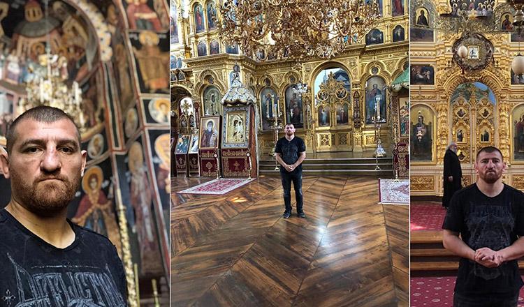 """Catalin Morosanu la Muntele Athos: """"Am venit sa ii multumesc lui Dumnezeu pentru tot ce mi-a daruit"""""""